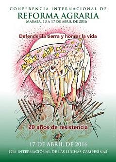 Afiche Conferencia Reforma Agraria - copia