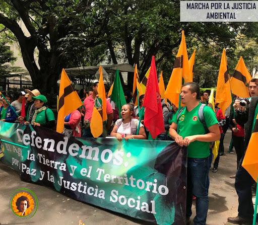 fensuagro marching in street